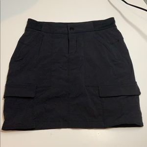 Athleta Black Cargo Skort